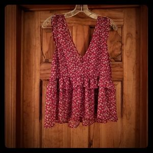 American Eagle baby doll tank size S